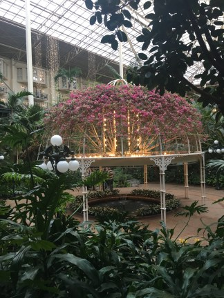 the Gaylord Opryland is amazing