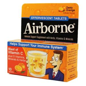 FREE Sample of Airborne Tablets