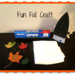 DIY Fall Stained Glass Craft