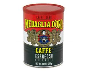 FREE Medaglia D'Oro Dark Italian Roast Coffee