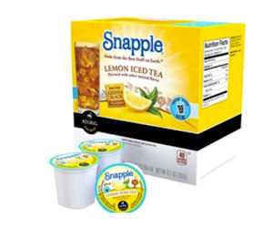 FREE Brew Over Ice Snapple Iced Tea K-Cups