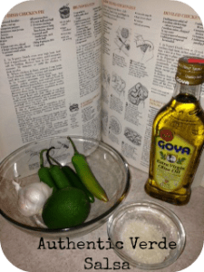 Spicy Authentic Verde Salsa Recipe