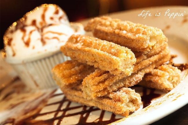 churros recipe using Bisquick