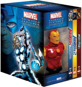 Marvel Animated Features Gift Set Now 82% Off!
