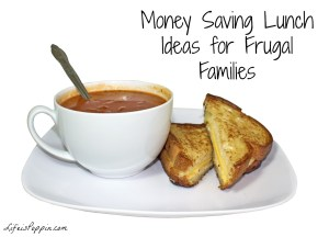 Money Saving Lunch Ideas for Frugal Families