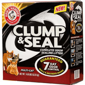 FREE 14 lb. ARM & HAMMER Clump & Seal Cat Litter