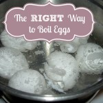 The RIGHT Way to Boil Eggs