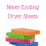 How to Make Never Ending Dryer Sheets!!