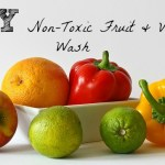 DIY Non-Toxic Fruit & Veggie Wash