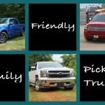 Chevy Silverado, Ford F-150, Toyota Tundra – Family Friendly Pickups