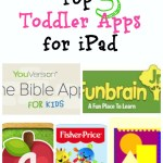 Top 5 Toddler Apps for iPad