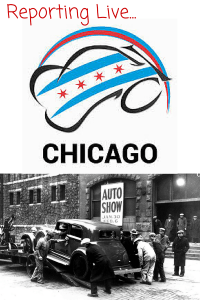 Reporting Live from the Chicago Auto Show!