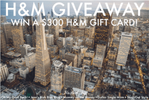 Update Your Closet with a $300 H&M Gift Card Giveaway!