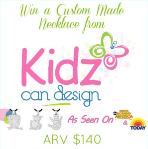KidzCanDesign Custom Made Necklace Giveaway