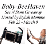 Baby-BeeHaven See n' Store Giveaway