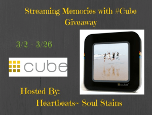 Streaming Memories with Cube Giveaway