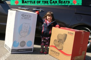 Battle of the Car Seats: Britax vs Graco