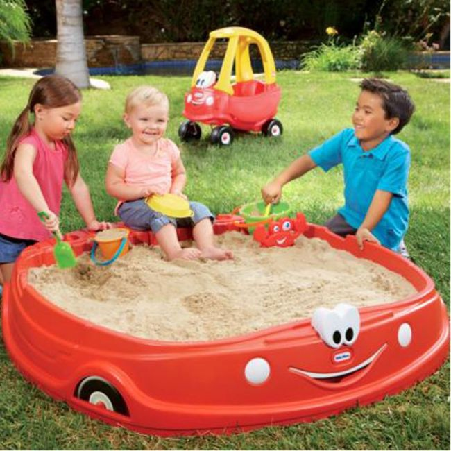 cozy coupe sand box review