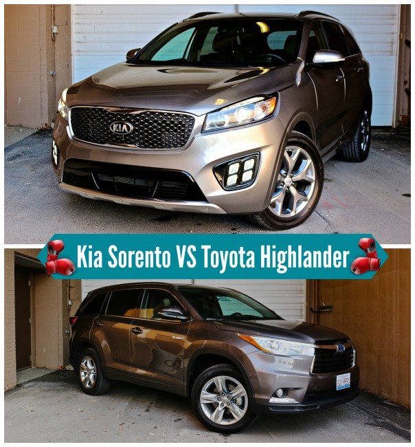 Toyota-highlander-vs-kia-sorento-comparision