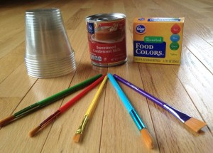 Two-Ingredient Edible Finger Paints