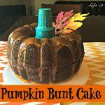 Pumpkin Bunt Cake