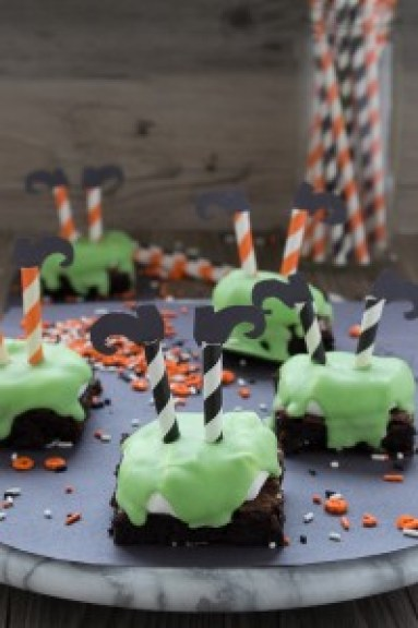 Melted Witch Brownies