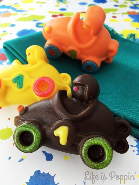 Candy Melt Race Cars #2
