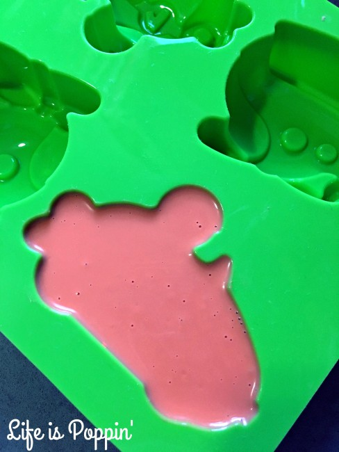 Candy Melt Race Cars In-Process #2
