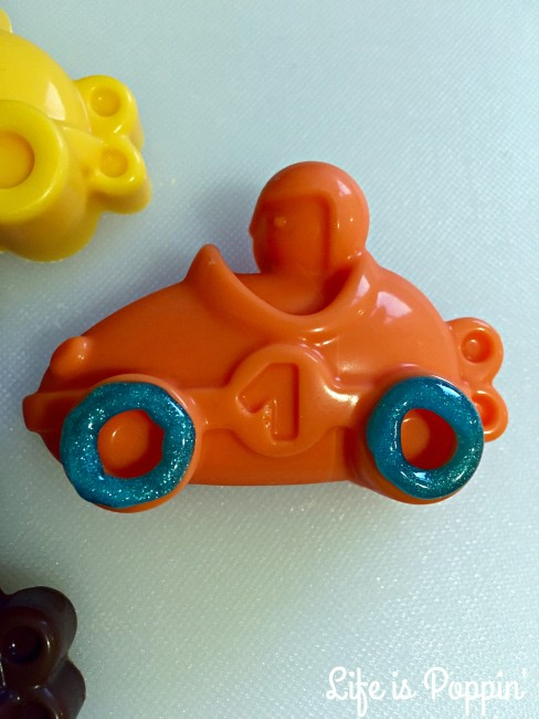 Candy Melt Race Cars In-Process #5