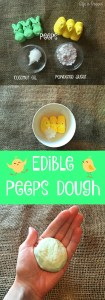 "Edible Peeps ""Play"" Dough"