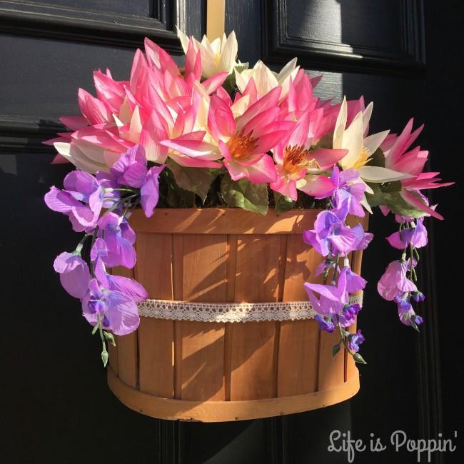 Flower Door Hanger DIY