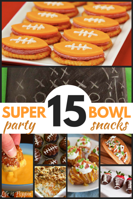 15 Super Bowl Party Snacks