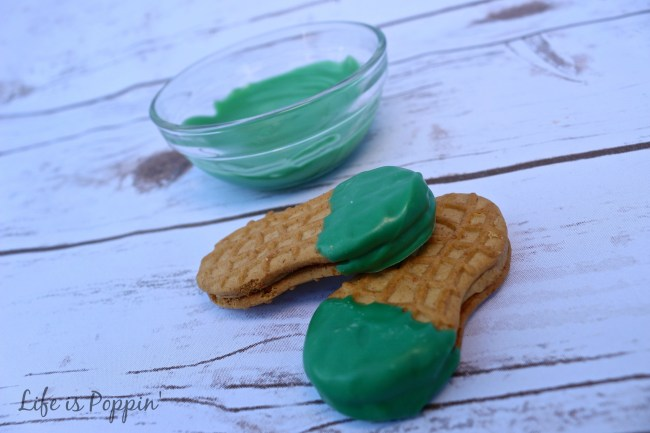 Leprechaun Cookies - Dipped