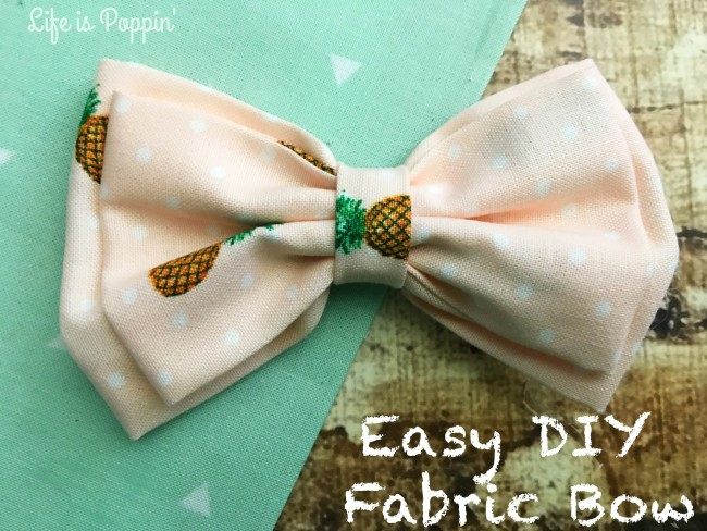 Easy-DIY-Fabric-Bow