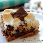 S'Mores Krispie Treats