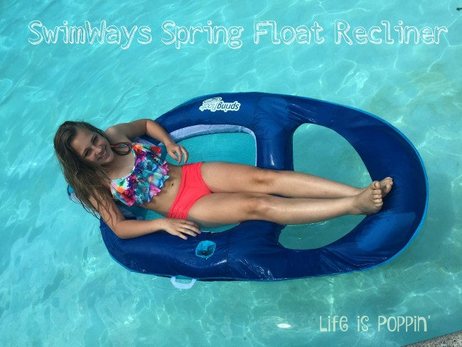SwimWays Spring Float Recliner- Review