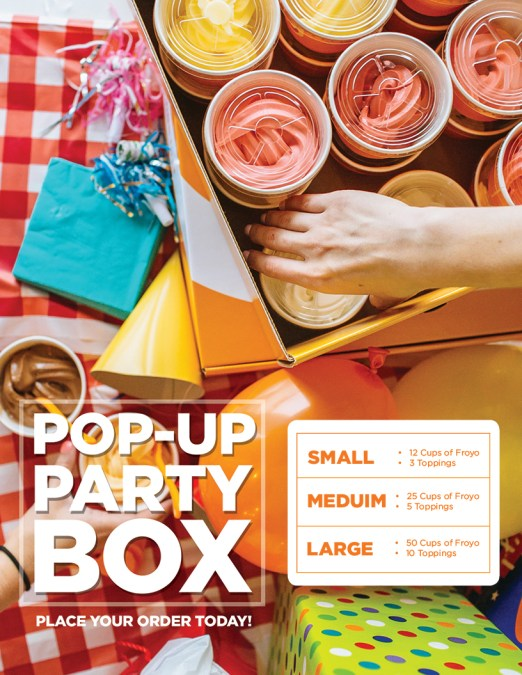 Pop-up box