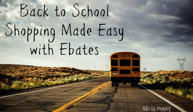 Back to school with ebates