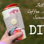 Easy Coffee Mug Sweater – DIY