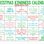 25 Days of Family Christmas Kindness