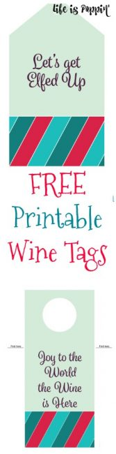 Printable Wine Tags Pinterest