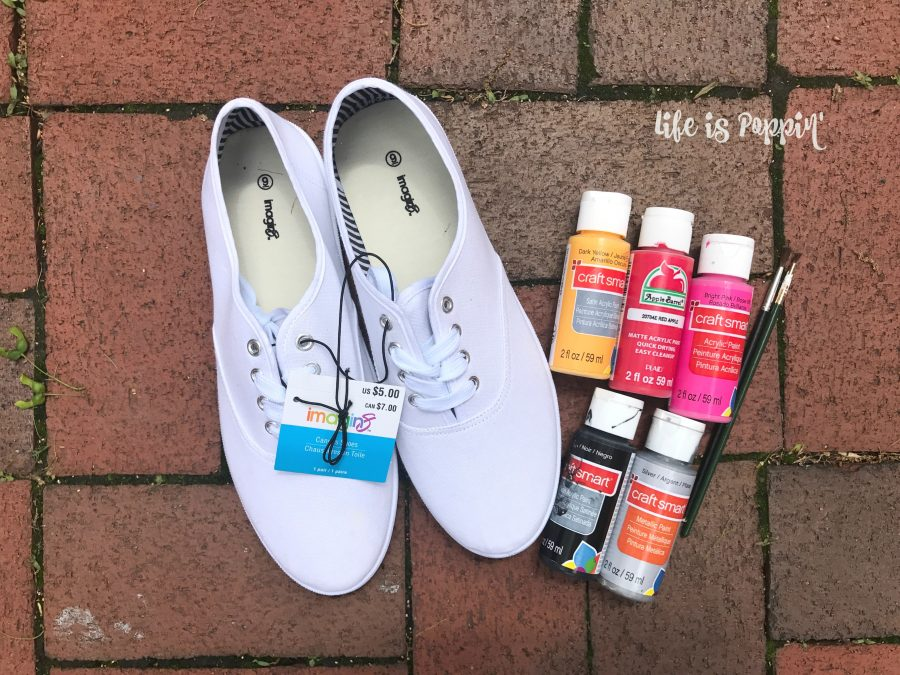 Painted-canvas-shoes