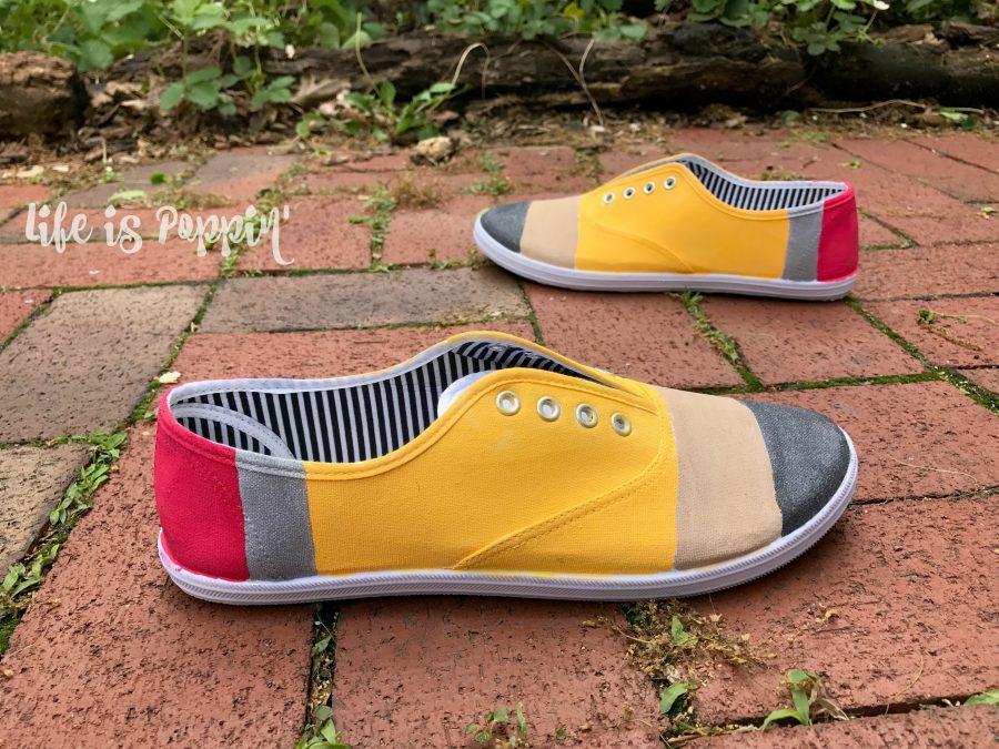 Painted-pencil-shoes