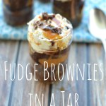 Fudge Brownies in a Jar