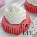 Easy Strawberry Yogurt Freezer Cups