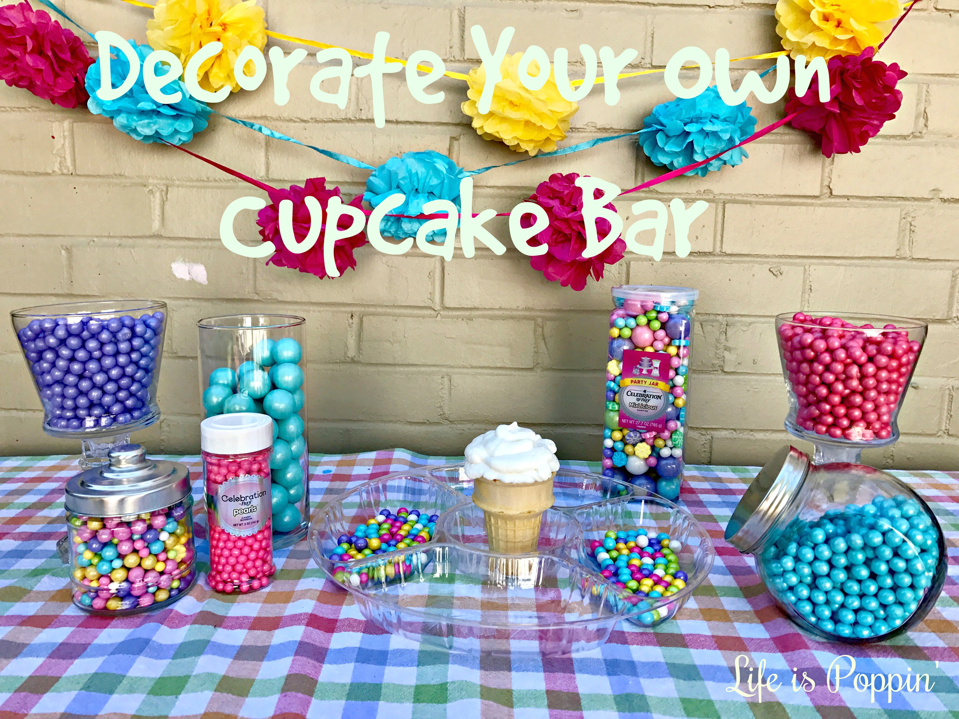 Decorate Your Own Cupcake Bar