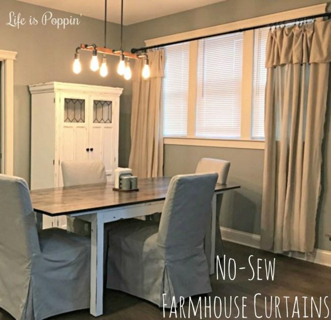 DIY-Farmhouse-Curtains-No-Sew