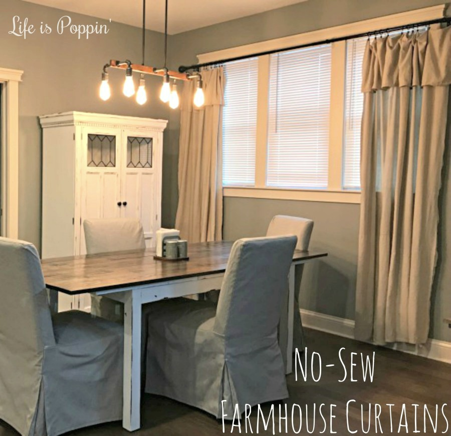 DIY-Farmhouse-Curtains-No-Sew