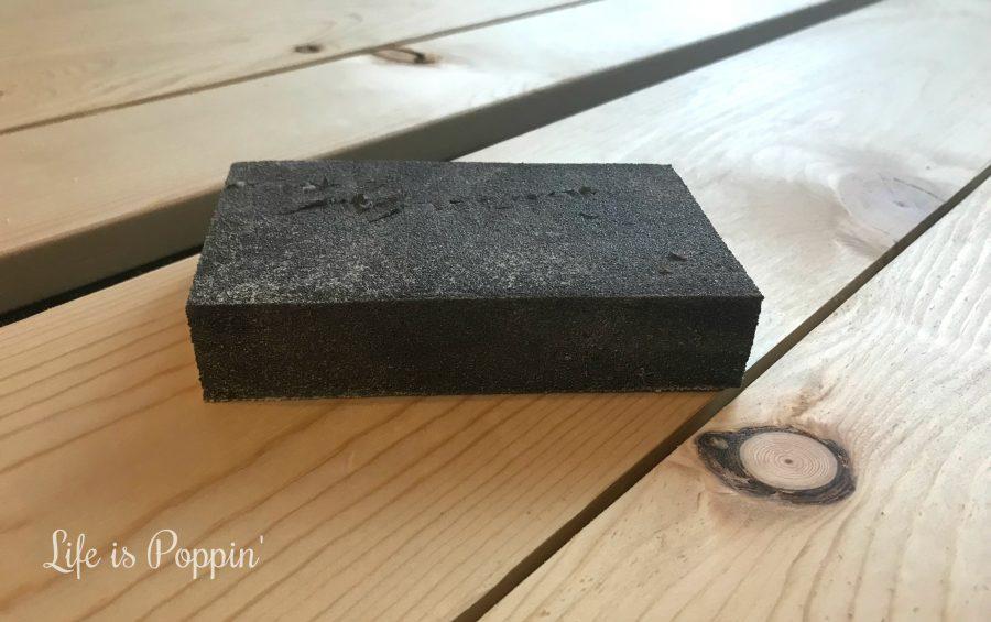 Farmhouse-Table-Sanding-block