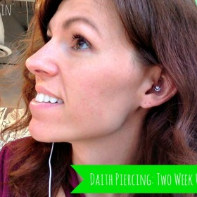 Daith Piercing for Migraines: Two Week Update